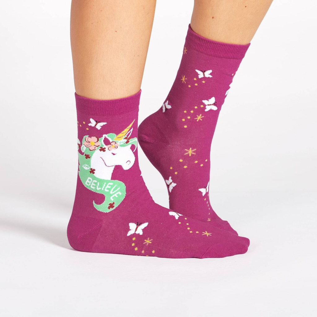 Believe in Magic Crew Socks