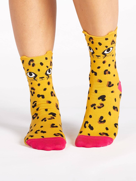 Chee-Toes Crew Socks