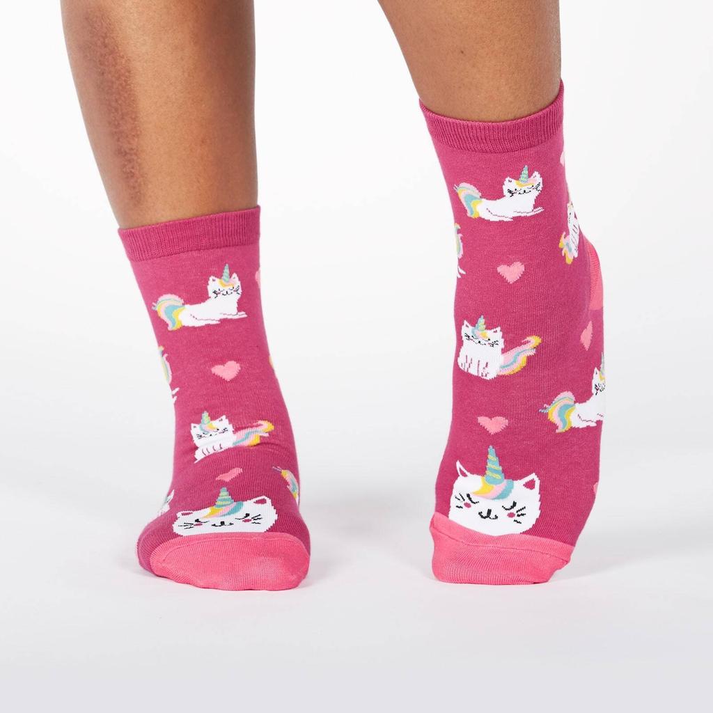 Look at Me Meow Crew Socks