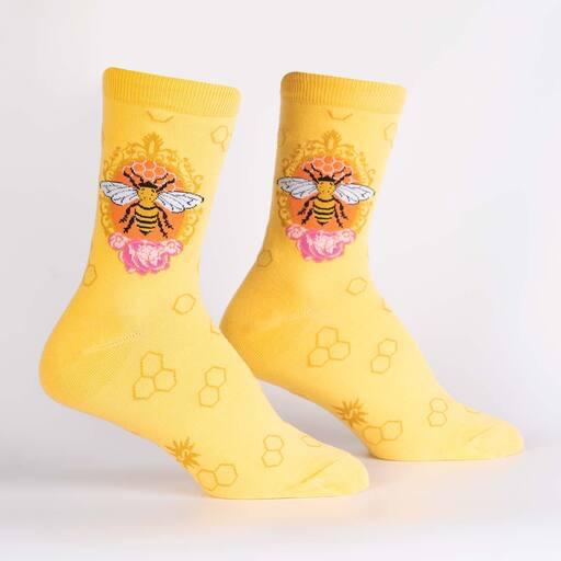 Queen Bee Women's Crew Socks