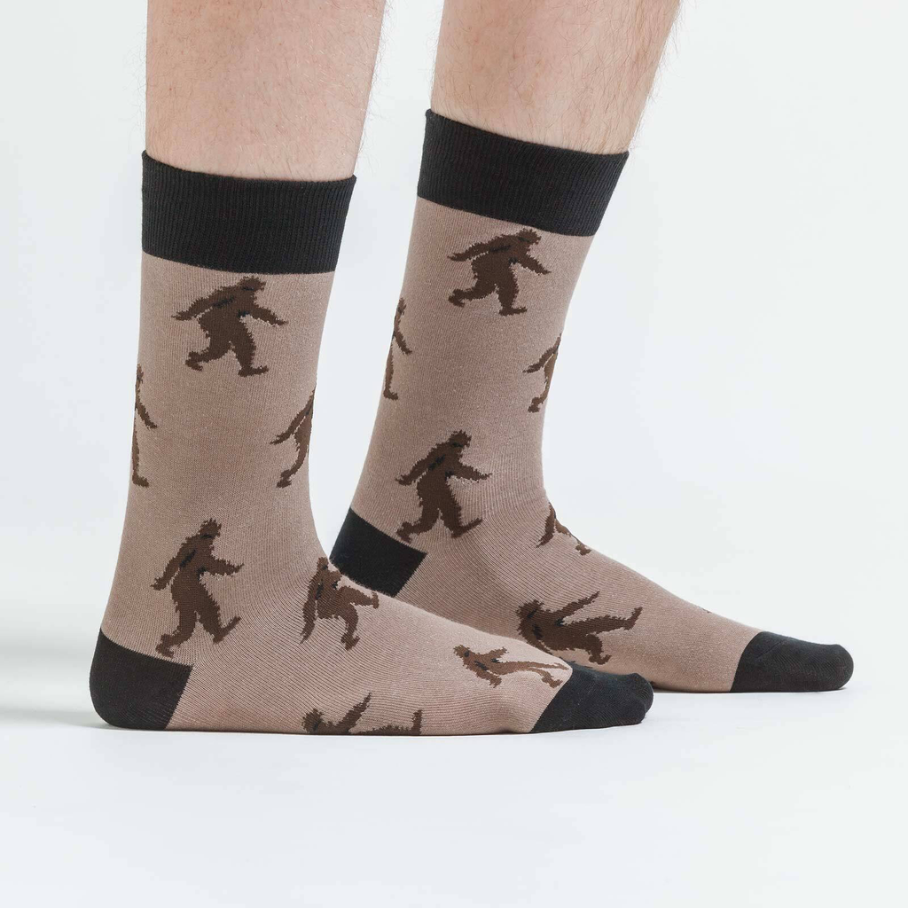 Sasquatch Men's Crew Socks