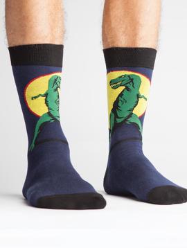 T-Rex Men's Crew Socks