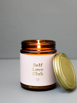 JaxxKelly Self Love Club Candle