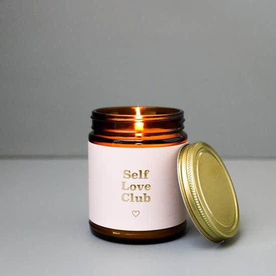 JaxxKelly Self Love Club Candle
