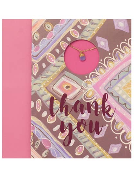 "BOPS ""THANK YOU""<br /> Card Wtih Necklace"