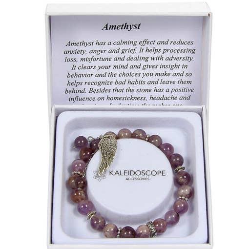 Kaleidoscope Amethyst Bracelet