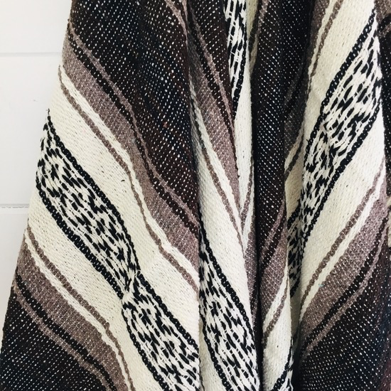 Sea Gypsy Desert Daze  Mexican Blanket