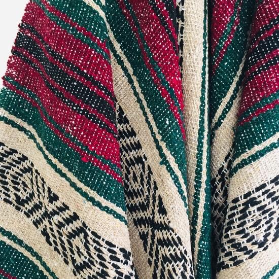 Sea Gypsy Happy Fall Days Mexican Blanket