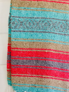 Sea Gypsy Jungle Berry Mexican Blanket