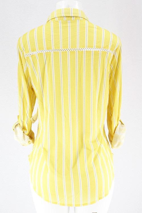 Yellow Stripe Wrangler Top