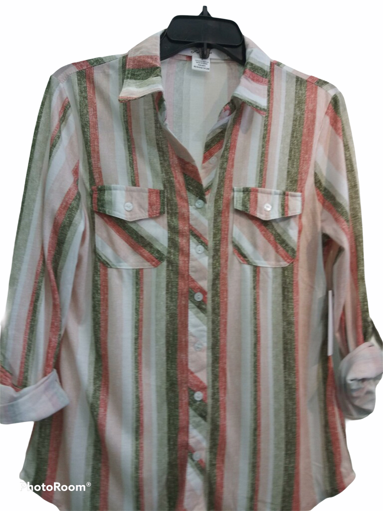 Pink Lining Top