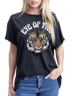 """12PM by Mon Ami Eye Of The"""" Tiger Tee"""