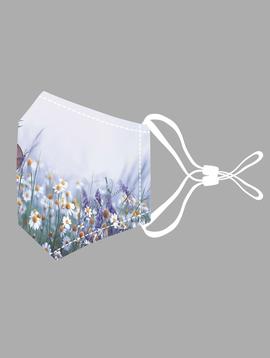 Lavender & Butterfly Cotton Mask