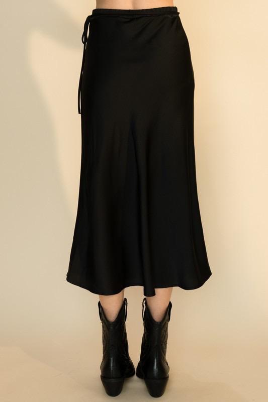 Serena Satin  Skirt