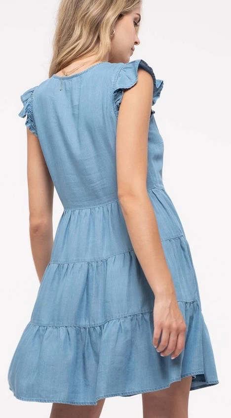 Montrez Little Denim Frock