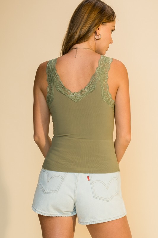 Little Oiive Lace Tank