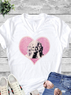 Carmelo Trend Dolly Love White Tee