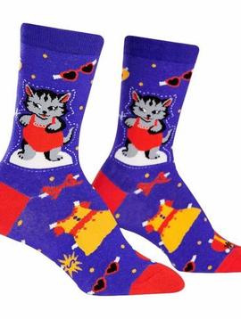 Dress up Meow Crew Socks