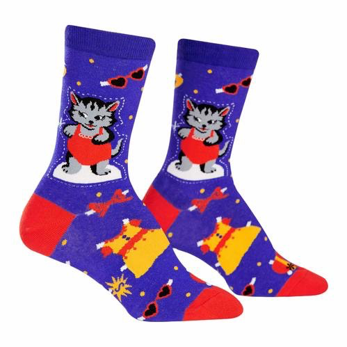 Dress up Meow Crew Socks