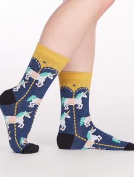 Carousel Crew Socks