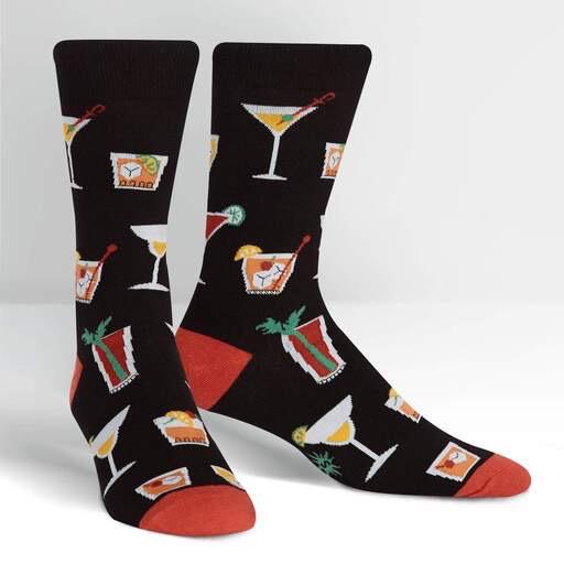 Socktail Hour Crew Socks