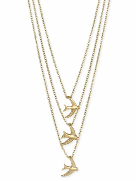 Sweet Swallows Necklace