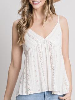 ZAHARA love Breezy Print Summer Cami