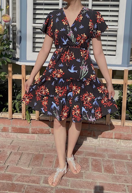 Misc LA Distributor Birds of Spring Dress