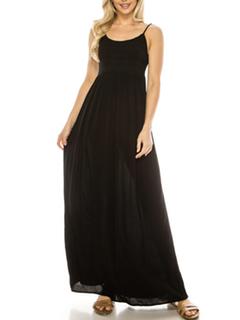 Misc LA Distributor Bohemian Nights Maxi Dress