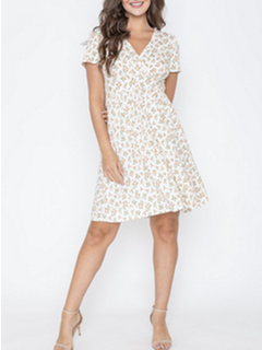 Misc LA Distributor Ditsy Floral Dress