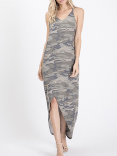 Cezanne On The Road Camo Dress