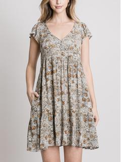 ZAHARA love Bayoy Babydoll Dress