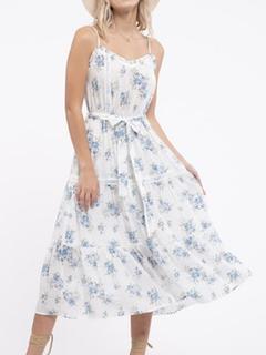 ZAHARA love Romantic Ruffle Floral Dress