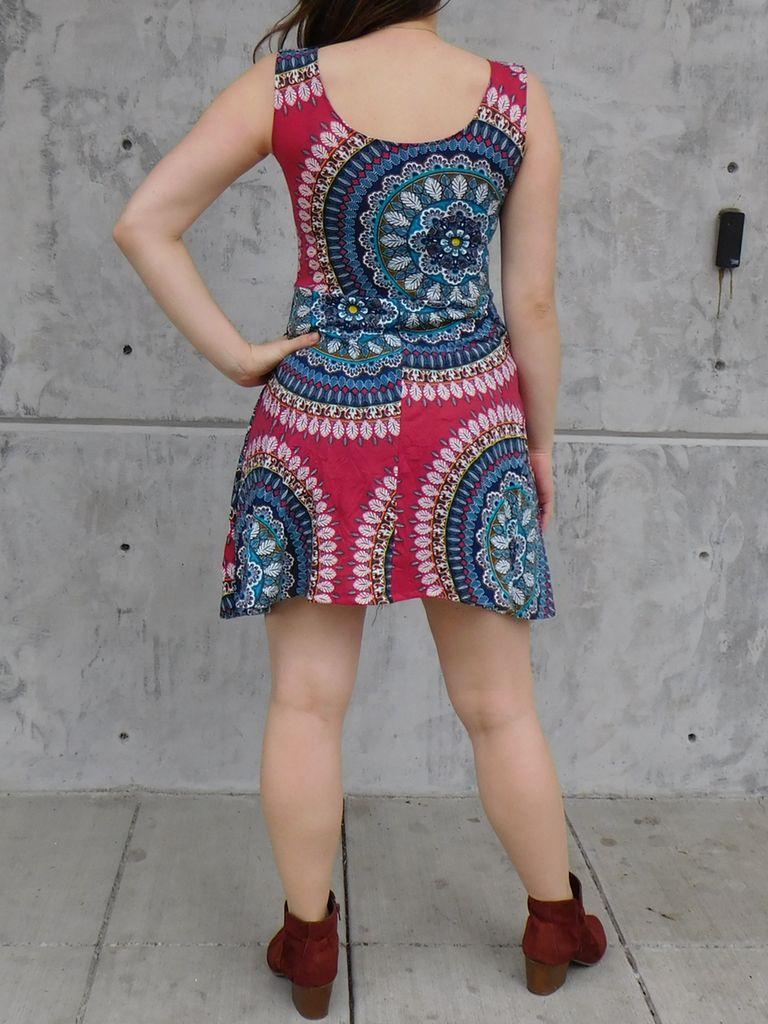 Gypsy Chic Skater Dress, Ankara