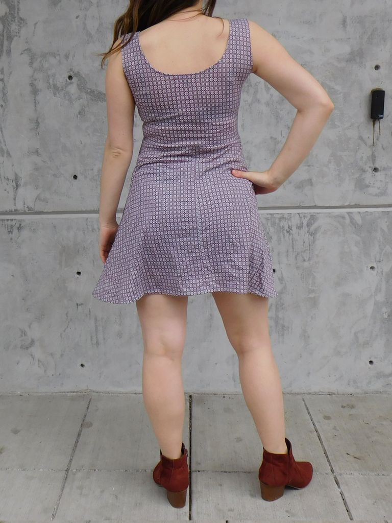 Gypsy Chic Skater Dress, Looking Glass