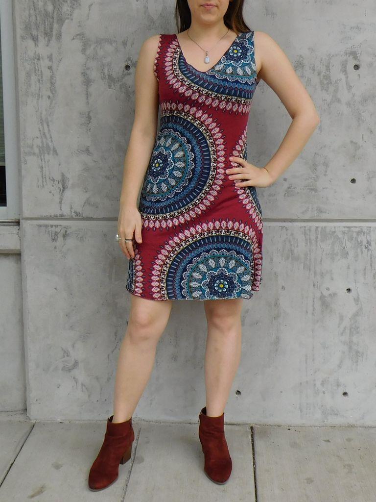 Gypsy Chic Tank Dress, Ankara