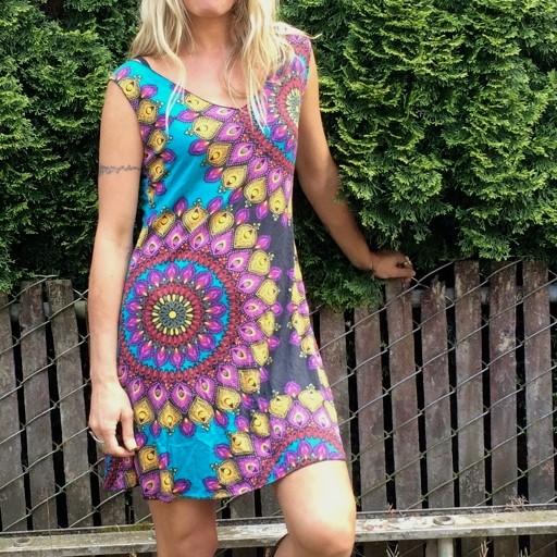 Gypsy Chic Tank Dress, Flower