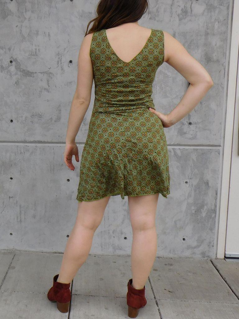 Gypsy Chic Tank Dress, Mosiac
