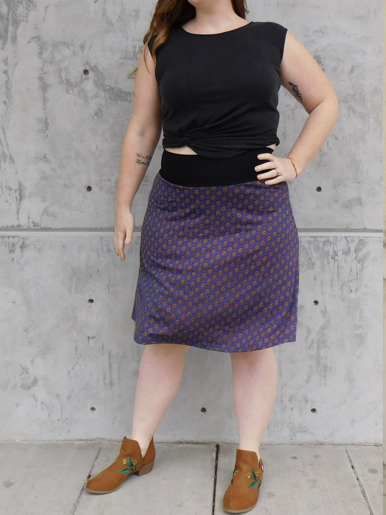 Gypsy Chic Band Skirt, Arabesque