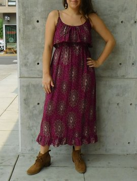 Gypsy Chic Prairie Maxi Dress, Starburst