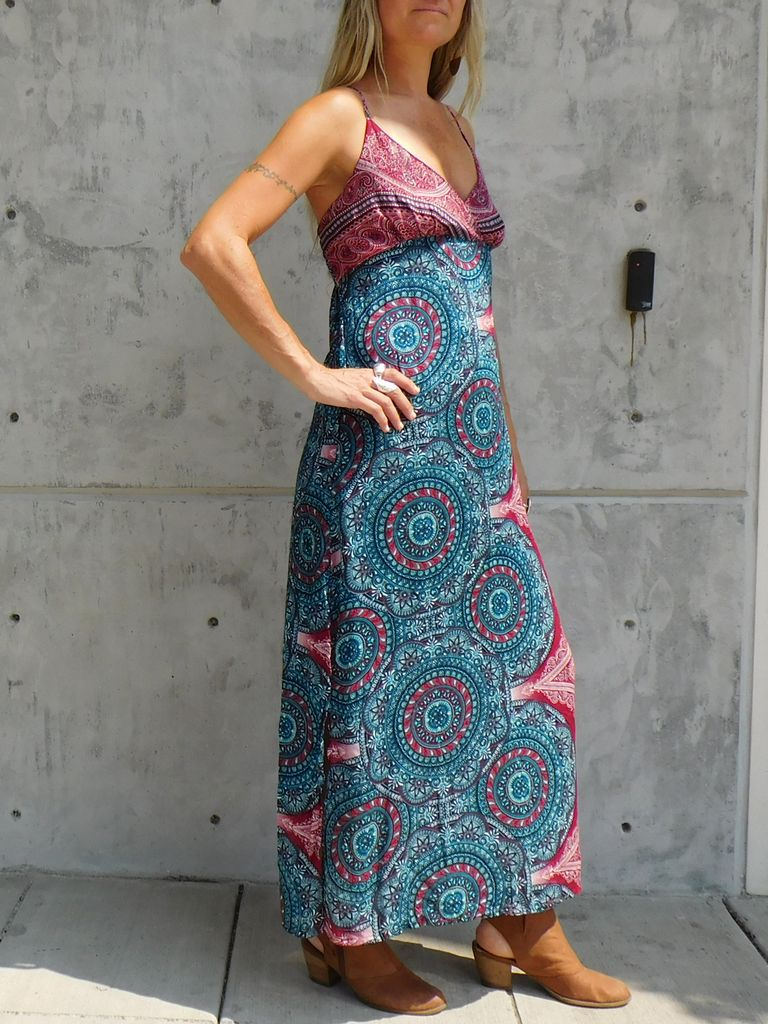 Gypsy Chic Sunset Slip Maxi, Arabian Nights