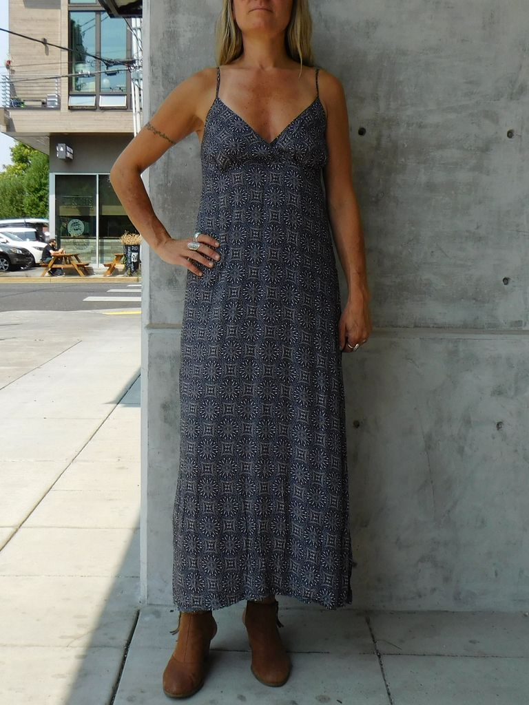 Gypsy Chic Sunset Slip Maxi, Eclipse