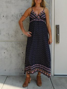 Gypsy Chic Sunset Slip Maxi, Mystic