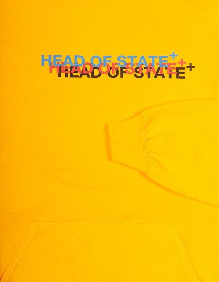 HEAD OF STATE+ Triple Logo Hoodie