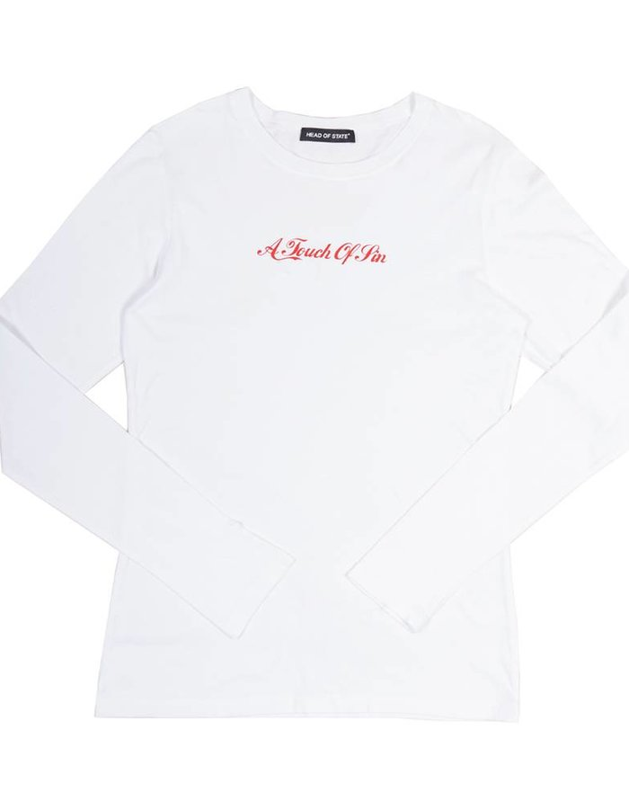 HEAD OF STATE+ HOS+  ATOS White Long Sleeve Shirt
