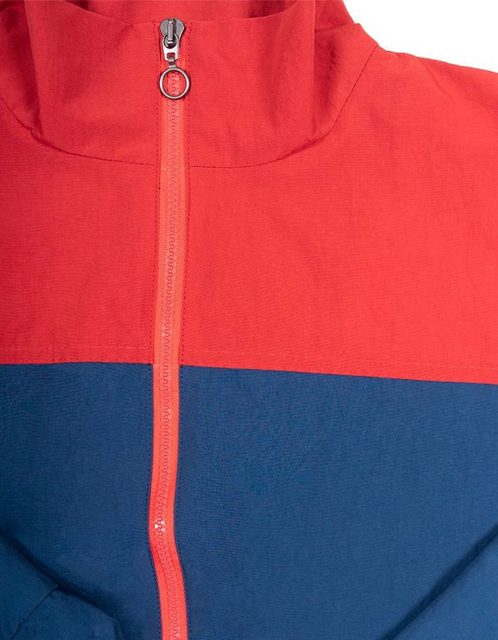 HEAD OF STATE+ HOS+ Navy and Red Track Jacket