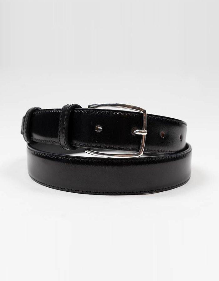 ACC Leather belt strap black