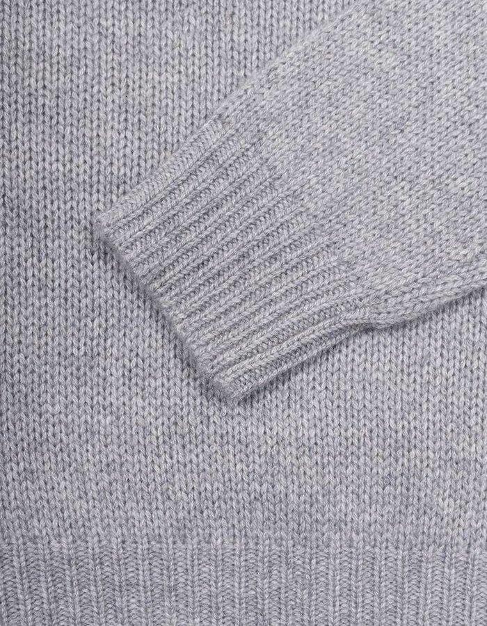 Seize sur Vingt Felt Grey Turtle Neck Sweater