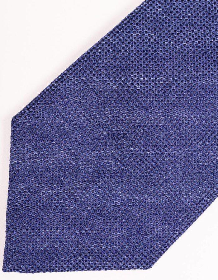 Seize sur Vingt Light Navy Melange Tie