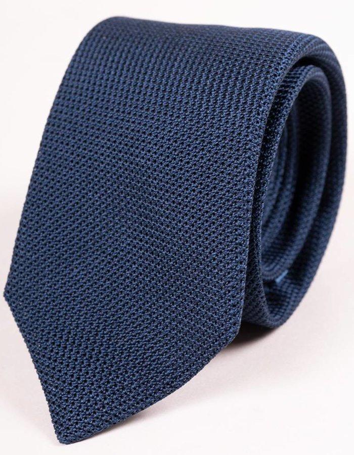 Seize sur Vingt Navy Textured Tie